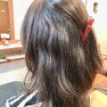 アラフォーは髪に変化が。