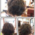 ペタンコ髪へのパーマ