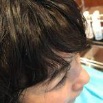 前髪のうねりがおばさん化の原因
